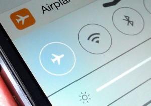 iOS 7 Airplane mode