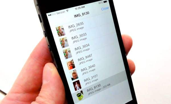 iOS 7 tip: See a list of every photo and video in a message thread