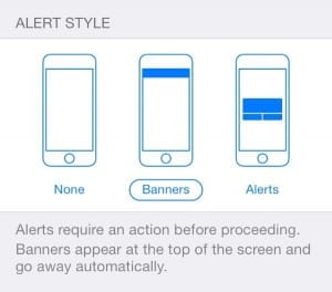 iOS 7 Notification settings 300x264 iOS 7 tip: Alerts, banners, and badges—whats the difference?