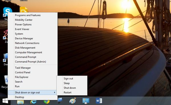 Windows 8.1 tip: Miss the Start menu? Try right-clicking the Start button