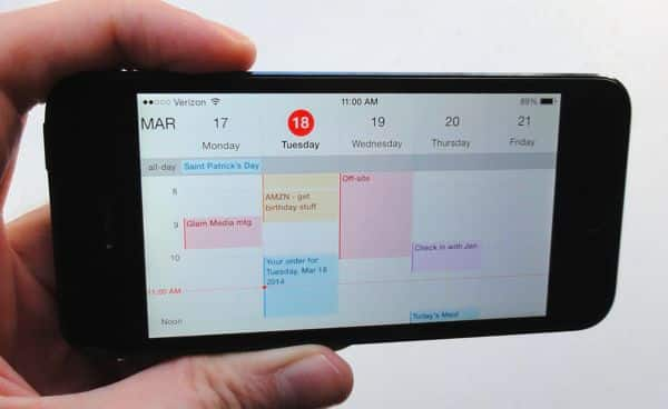 iOS tip: How to color-code your Calendar events