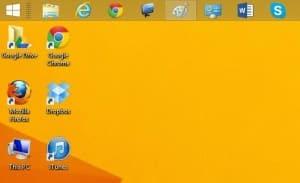 Move the Windows taskbar