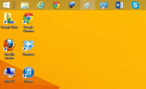 Move the Windows taskbar