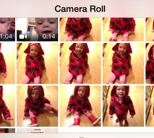 iOS 7 camera burst mode