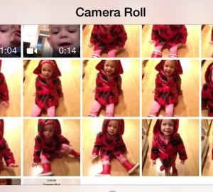 iOS 7 camera burst mode