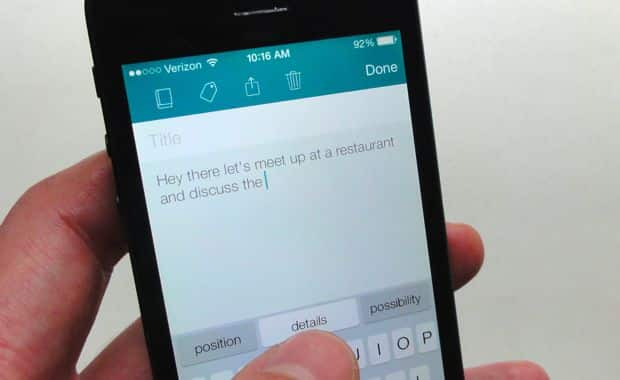 iOS app: Want a preview of iOS 8's QuickType feature? Try SwiftKey