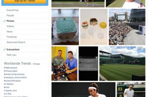 Twitter search Photos results