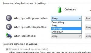 how to keep computer scree awake when closing the lid