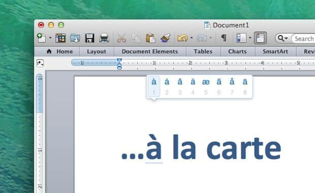 Mac tip: An even easier way to type letters with accent marks