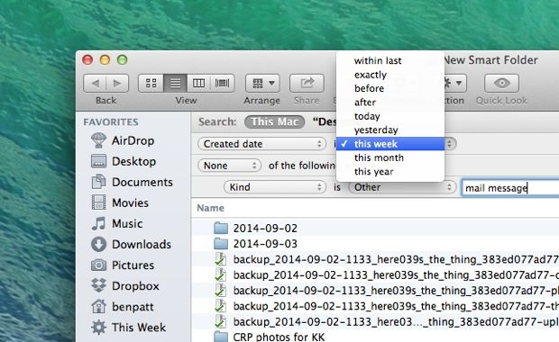 "Mac/Windows tip: Create a ""recent files"" folder on your desktop"
