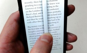 Instapaper page flipping