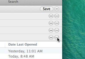 Mac Smart Folder option key