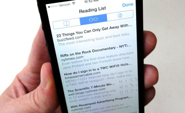 iOS tip: Can I create folders for the stories in my Reading List?