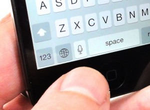 iOS voice typing key