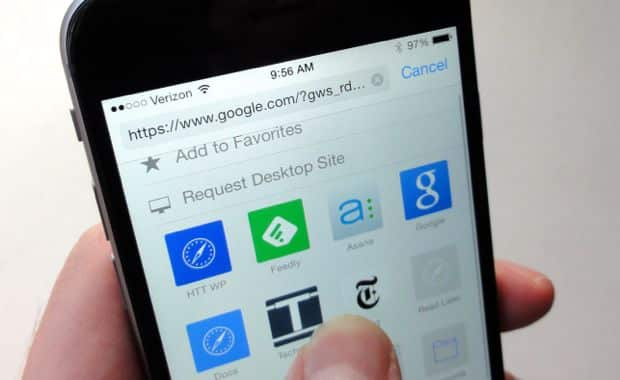 iOS 8 tip: 2 hidden Safari buttons you need to try