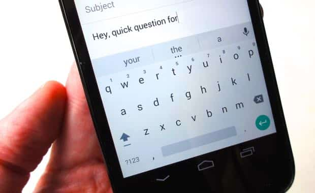 Android tip: Get a sleek new theme for the old Android keyboard