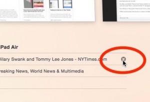 Close an open Safari tab remotely on a Mac