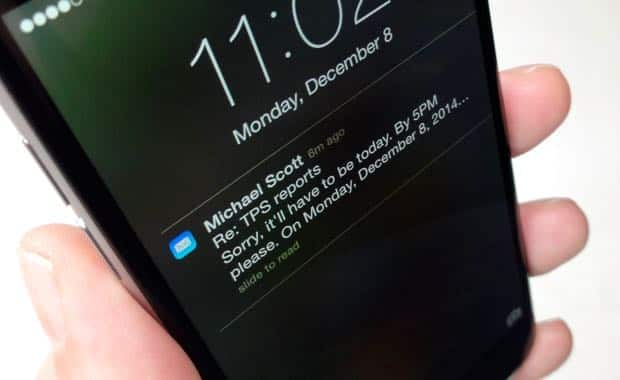 iOS 8 tip: Important email thread? Get an alert when people reply