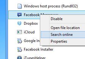 Windows 8 task manager startup tab