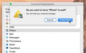 Mac force quit window