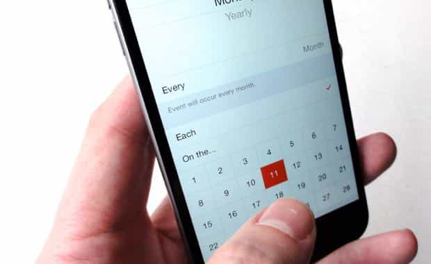 iOS tip: Create your own custom repeating Calendar events