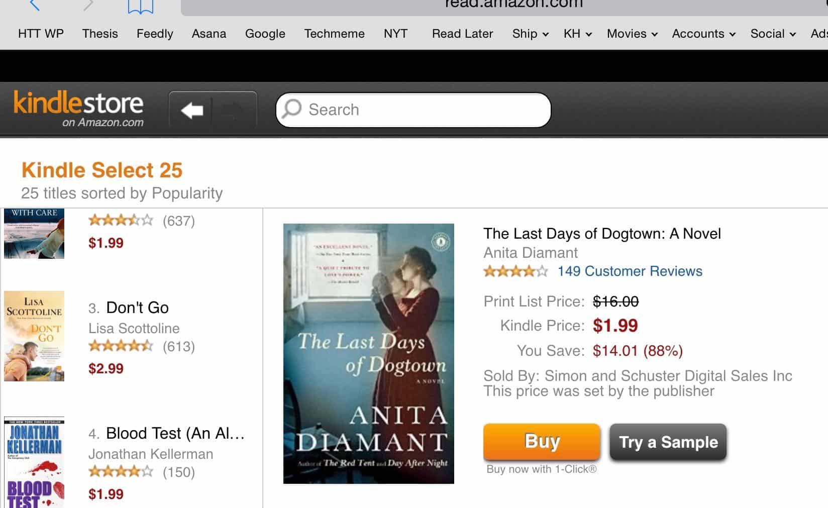 Comment acheter des livres Kindle sur iPad