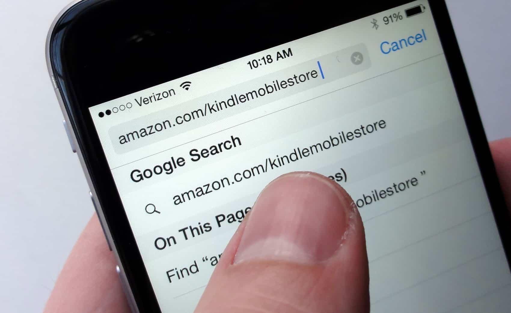 Comment acheter des livres Kindle sur l'URL de l'iPhone pour la boutique Kindle