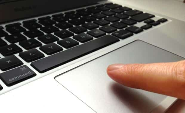 Mac tip: Tough time clicking your MacBook's trackpad? Just tap instead