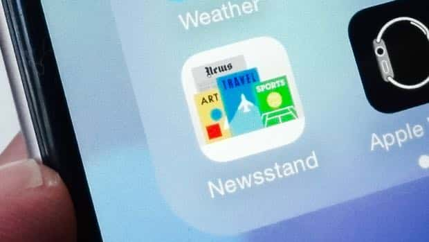 newsstand - iOS 9 tip: How to banish Newsstand from your iPhone