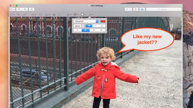 Mac tip: An easy (and free) way to add text, arrows and more to photos