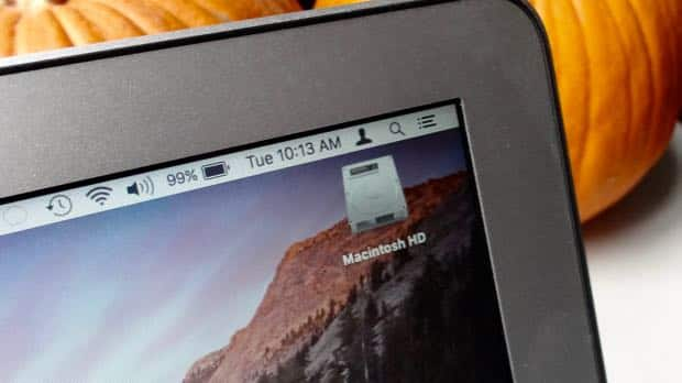 Mac tip: How to put a missing hard drive icon back on your desktop