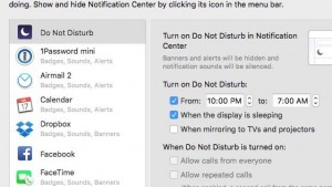 do not disturb - Do Not Disturb for Mac schedule settings