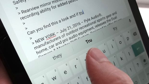 how to delete word suggestions on android