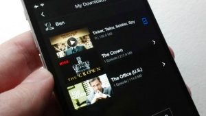 Download Netflix videos to your iPhone or Android phone