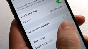 How to stop Safari for iOS from asking to save web passwords