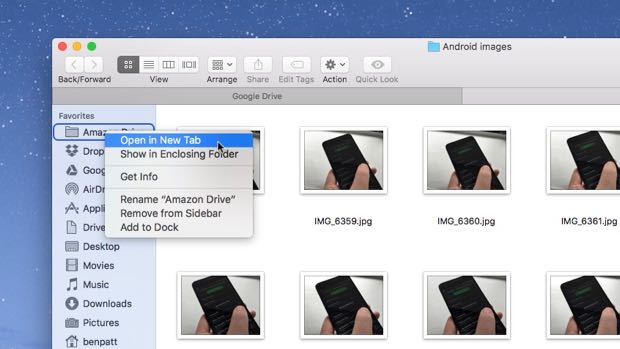 how to get to mac hd folder