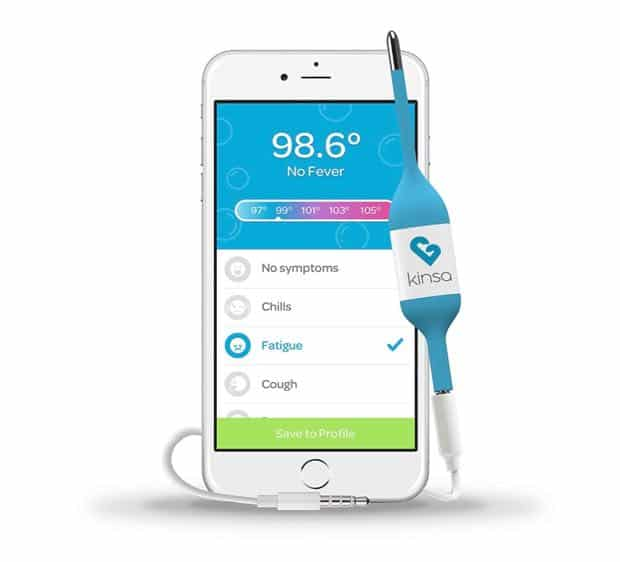 Kinsa Smart Stick Digital Thermometer