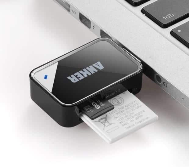Anker USB 3.0 8-in-1 Card Reader