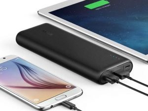 Anker PowerCore 20100 portable iphone charger is a must have for travelers