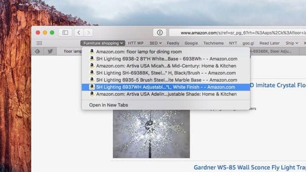 Mac tip: An easy way to save your open Safari tabs in a bookmark folder