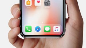 iPhone X no more Home button