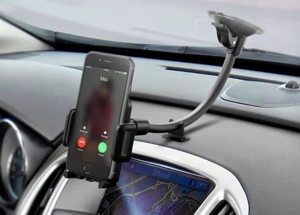 Mount your iPhone on your car's dashboard for $10