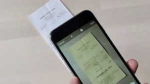 iOS 11 tricks scan receipts
