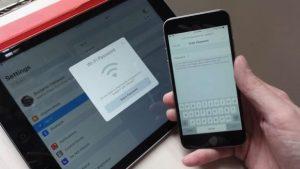 iOS 11 tricks share Wi-Fi password