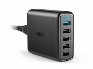 Anker Quick Charge 3.0 5-Port Wall Charger
