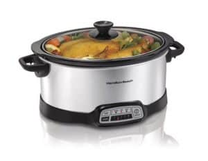 Hamilton Beach 7-Quart Programmable Slow Cooker
